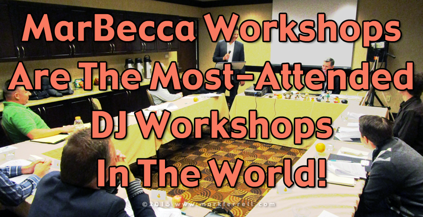 MarBecca - The Most Attended DJ Workshops