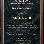 ADJA PRESIDENT'S AWARD